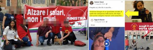 La leader delle 6mila sardine invocava la morte di Salvini
