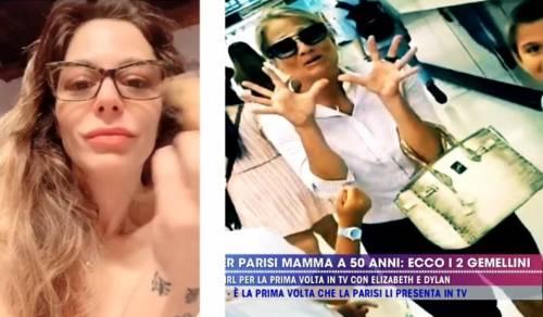 Naike Rivelli nuda per protestare contro la borsa di coccodrillo di Heather Parisi