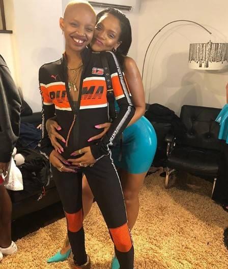 Rihanna e Slick Woods, le foto sexy