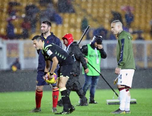 I test sul campo bagnato a Lecce 3
