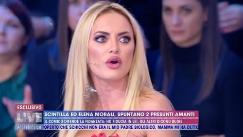 """Elena Morali: """"Con Daniele e Scintilla una relazione malata, io sono single"""""""