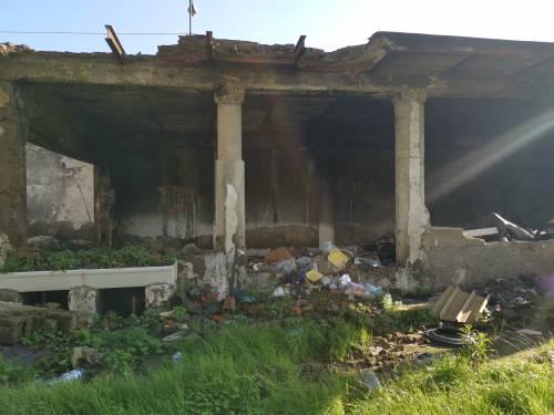 Napoli, il nuovo campo rom abusivo a Poggioreale 2