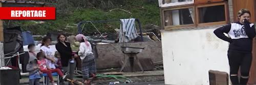 """Nel campo rom dove è morta una neonata: """"Meglio non entrare, qui vi menano e vi rubano tutto"""""""