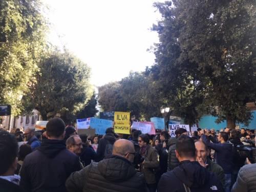 Taranto, il quarto sciopero per il clima nella città dell'acciaio 2