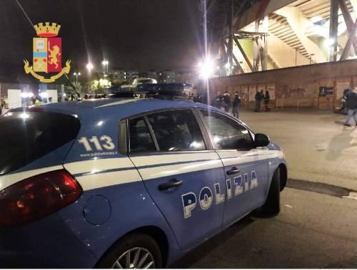 Repulisti al San Paolo, sanzionati 33 parcheggiatori abusivi