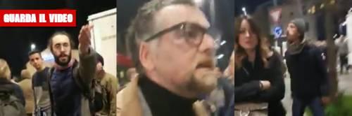 """Sardine aggrediscono sindaco """"Insulti, sputi e spintoni dagli anti Salvini"""""""