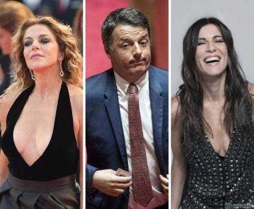 Claudia Gerini o Paola Turci al posto di Gentiloni? Renzi ci pensa