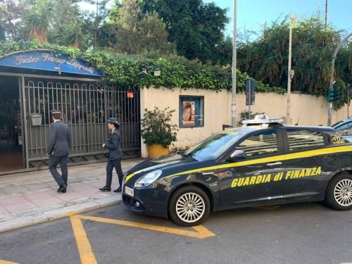 """La Guardia di Finanza sequestra il teatro """"Zappalà"""""""