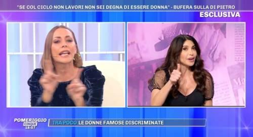"""Scontro tra Karina Cascella e Carmen Di Pietro: """"Ignorante"""""""