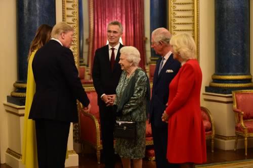 Regina Elisabetta II, le foto del banchetto Nato 5