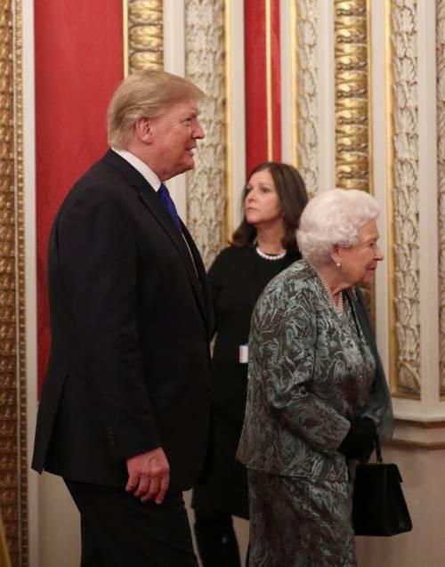Regina Elisabetta II, le foto del banchetto Nato 4