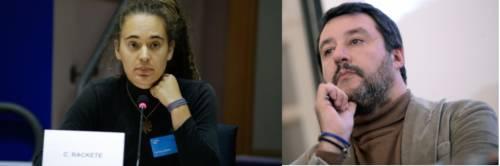 """Salvini controdenuncia Carola: """"Porto in tribunale la signorina"""""""