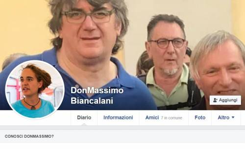 Don Biancalani mette Carola Rackete come foto profilo su Facebook