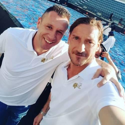 Francesco Totti e Ilary Blasi, le foto più belle 7