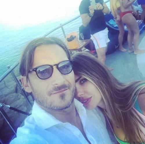 Francesco Totti e Ilary Blasi, le foto più belle 6