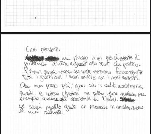 """Le lettere del bambino allontanato dalla mamma: """"voglio tornare a casa"""" 2"""