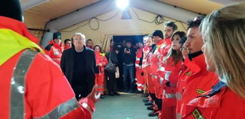 Brindisi, le immagini della città durante l'evacuazione 3