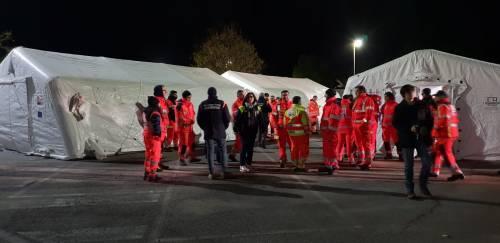 Brindisi, le immagini della città durante l'evacuazione 4