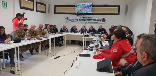Brindisi, le immagini della città durante l'evacuazione 2