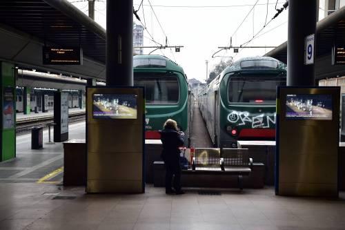 Da ieri c'è solo un treno che va da Milano a Roma