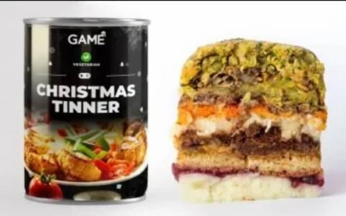 Il pranzo di Natale? Dall'Inghilterra arriva la lattina con il pasto completo