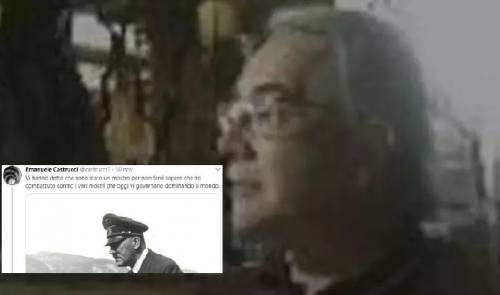 Scrisse tweet pro Hitler, di nuovo chiuso l'account del professor Castrucci