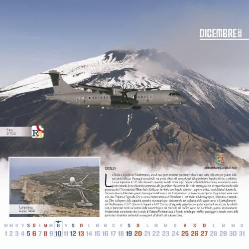 Le fotografie del calendario dell'Aeronautica Militare 2