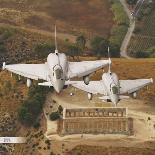 Le fotografie del calendario dell'Aeronautica Militare 4
