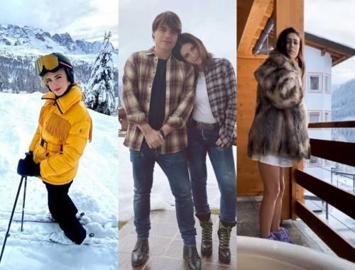Da Chiara Ferragni a Laura Pausini, i vip scelgono la montagna per Natale