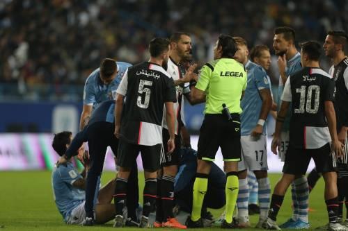 Juventus, scintille tra Pjanic e Bonucci durante la finale di Supercoppa Italiana