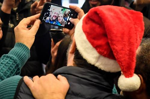 Matteo Salvini in visita all'ospedale dei bambini  6
