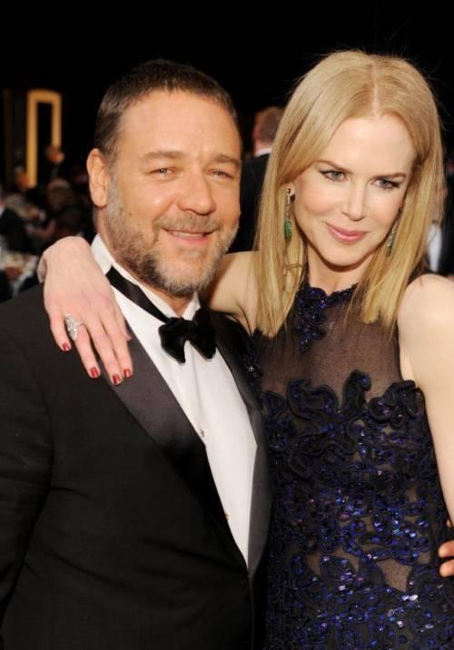 L'incontro in aereo tra Nicole Kidman e Russell Crowe