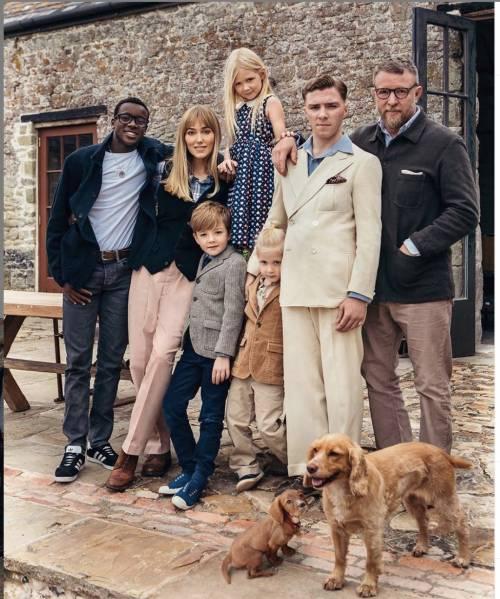 I figli di Madonna in una rarissima foto insieme al papà Guy Ritchie