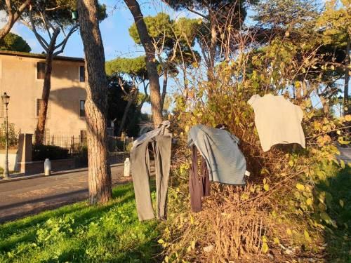 Colle Oppio, degrado e favelas nel parco archeologico 6