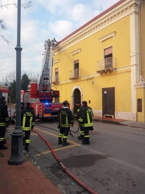 Caserta, incendio in una casa di riposo: morte due donne