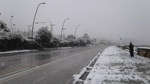 Campania, vento forte e freddo intenso: allerta meteo della Protezione Civile
