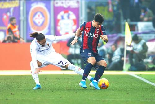 Serie A, Bologna-Fiorentina finisce 1-1. L'Atalanta travolge 5-0 il Parma