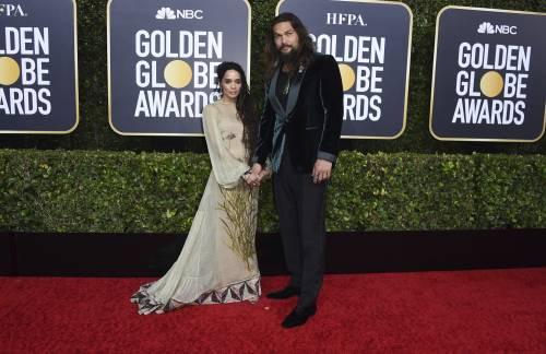 Jason Momoa svela la scelta della canottiera ai Golden Globes