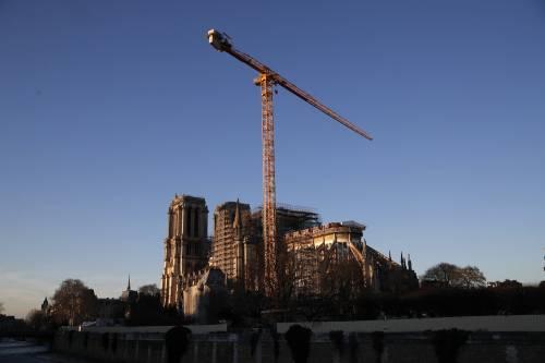 """Il responsabile dei lavori: """"Notre Dame non è salva"""""""