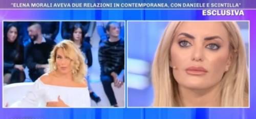 """Elena Morali crolla: """"Sto malissimo, stavo insieme a Scintilla e a Daniele"""""""