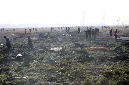 Iran, il terribile incidente dell'areo civile ucraino