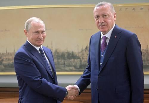 Iniziato il vertice Putin-Erdogan: stabilito il cessate il fuoco in Libia