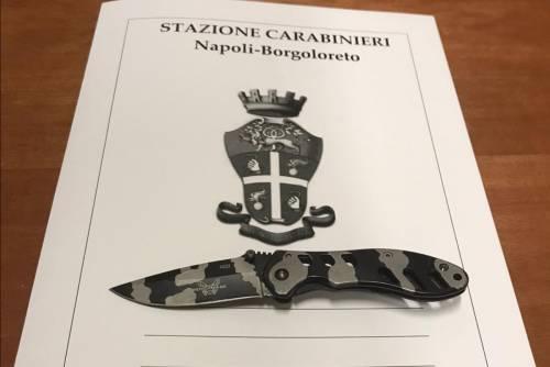 Fermato con un coltello negli slip: denunciato il nipote 14enne del boss Mazzarella