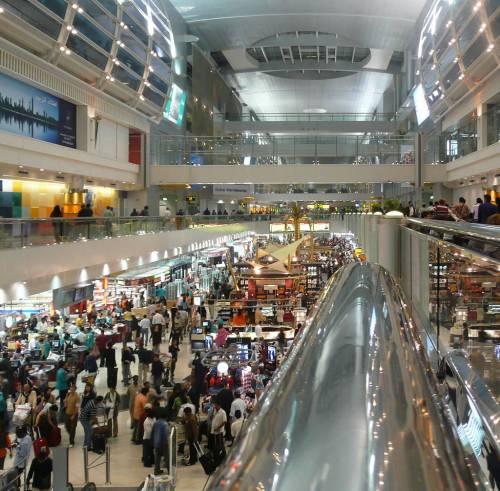 L'aeroporto di Dubai