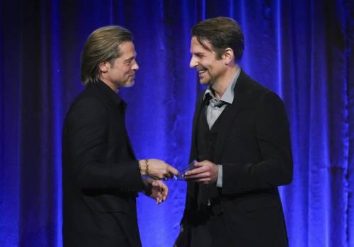 Brad Pitt e Jennifer Aniston ai Golden Globes 2020: foto 2