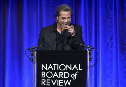 Brad Pitt e Jennifer Aniston ai Golden Globes 2020: foto 3