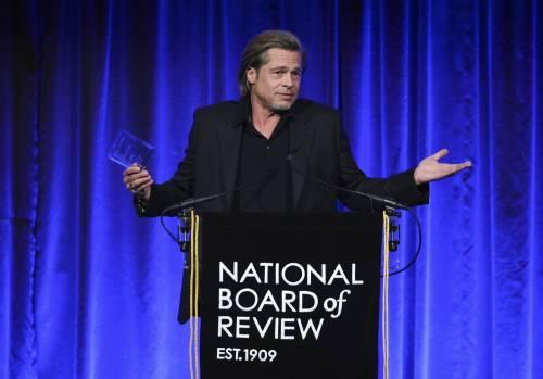 Brad Pitt e Jennifer Aniston ai Golden Globes 2020: foto 6