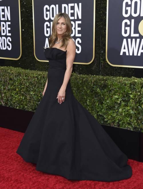 Brad Pitt e Jennifer Aniston ai Golden Globes 2020: foto 9