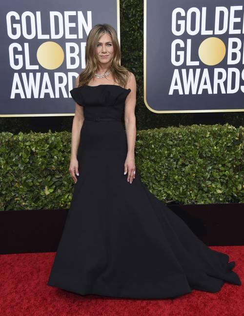 Brad Pitt e Jennifer Aniston ai Golden Globes 2020: foto 4