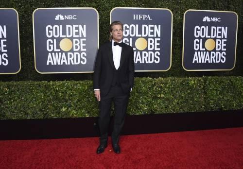 Brad Pitt e Jennifer Aniston ai Golden Globes 2020: foto 5